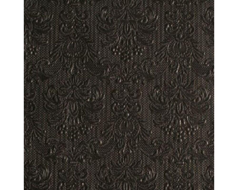 Elegáns fekete ünnepi szalvéta 6820ebdfa6