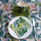 Egzotik asztalterítő