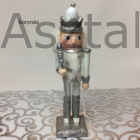 Diótörő karácsonyi figura ezüst