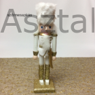 Diótörő karácsonyi figura arany