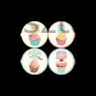 Muffin parafa tányéralátét készlet