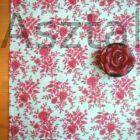 Piros rózsa asztali futó