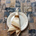 Mozaik asztalterítő