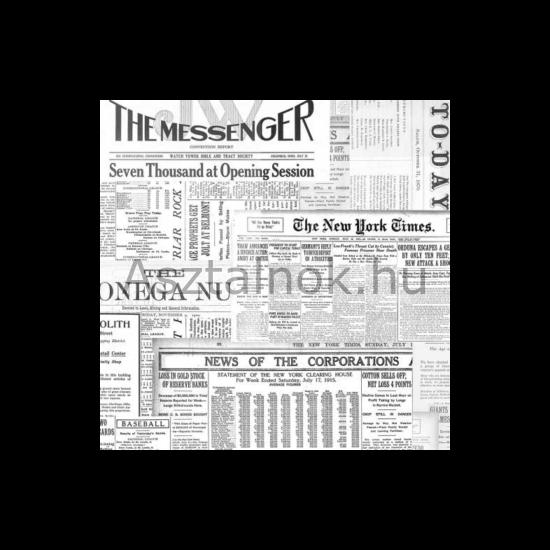 Újságpapír szalvéta