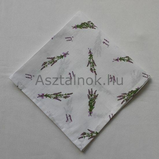 Levendula textil szalvéta