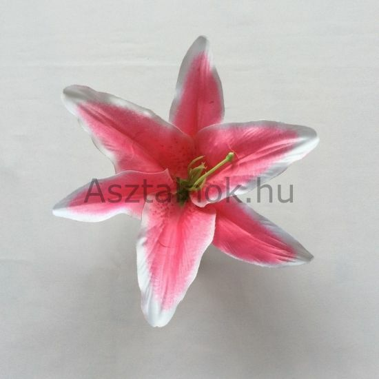 Liliom selyemvirág fej