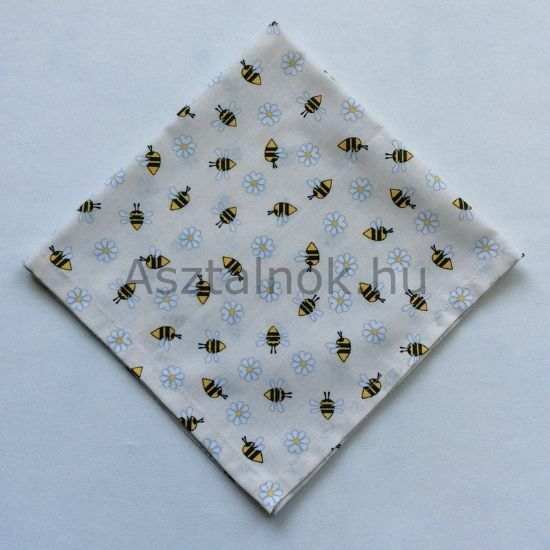 Méhecske textil szalvéta
