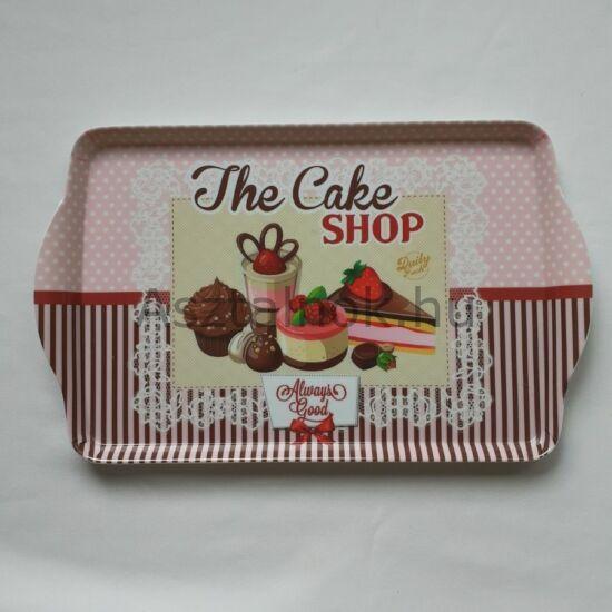 sütemény mintás tálca
