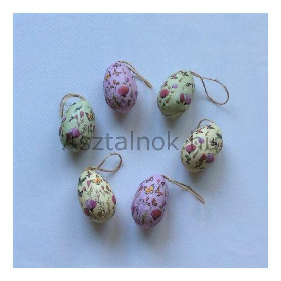 Tavaszi rét dekor  tojás készlet