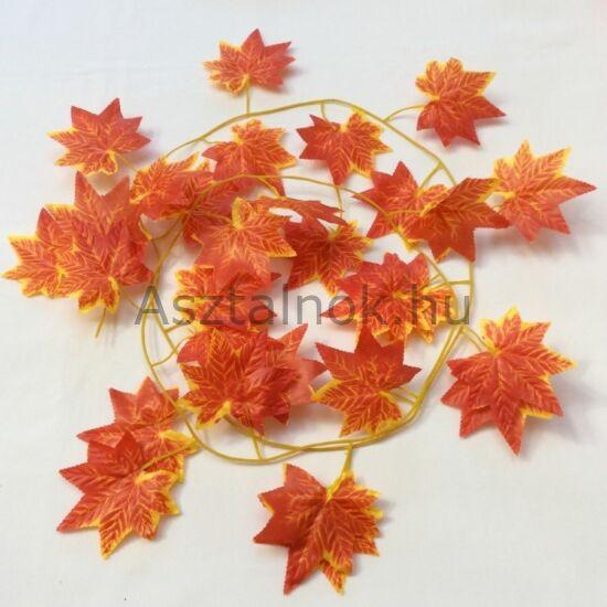 Őszi levél girland dekoráció
