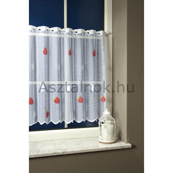Eper vitrázs függöny