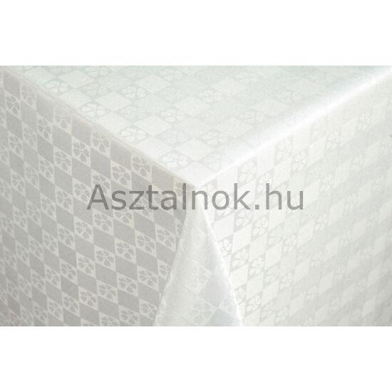 Kankalin teflonos asztalterítő fehér