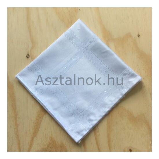 Jácint damaszt textil szalvéta