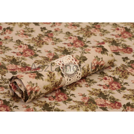 Rózsakert textil szalvéta