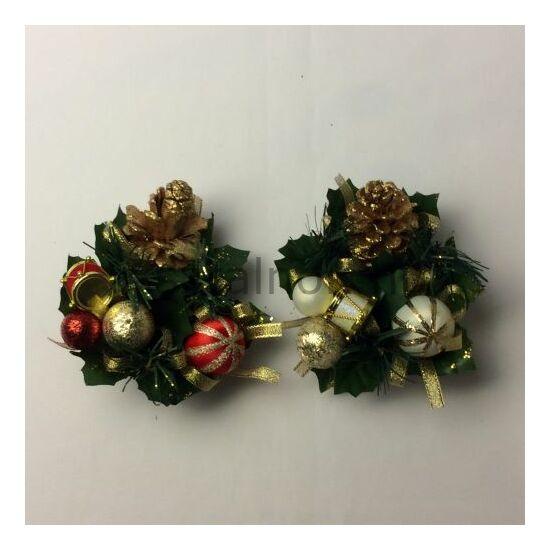 Karácsony gyertyagyűrű