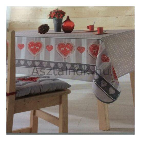 Karácsonyi romantika asztalterítő