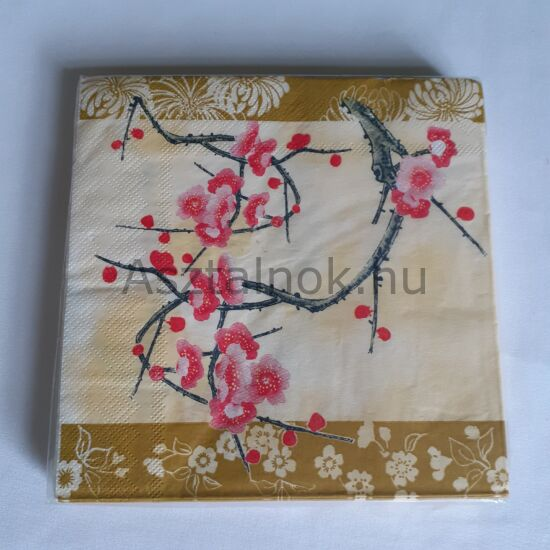 Cseresznyevirág papírszalvéta