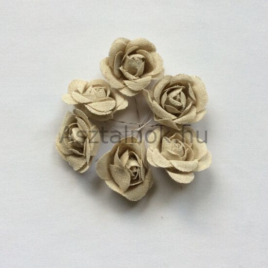Juta virág dekorációs csomag