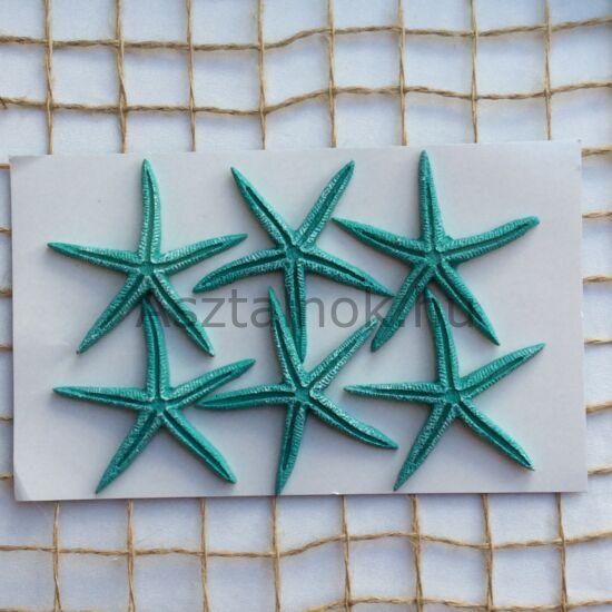 Tengeri csillag dekoráció készlet türkiz