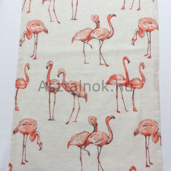 Flamingó asztali futó