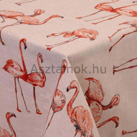 Flamingó asztalterítő