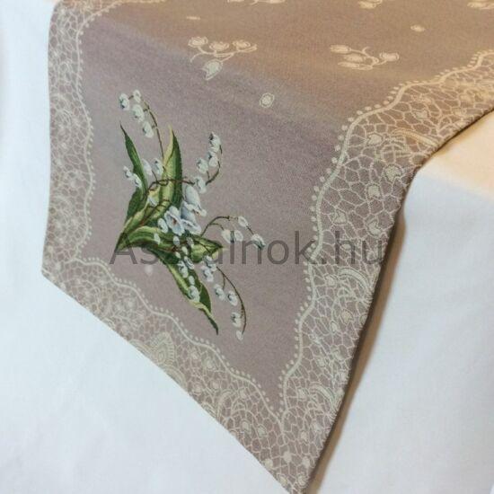 Gyöngyvirág asztali futó
