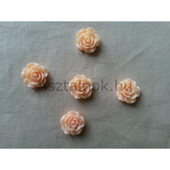 Virág dekor barack