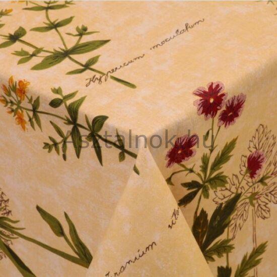 Vadvirág mintájú pamut asztalterítő acf7308851