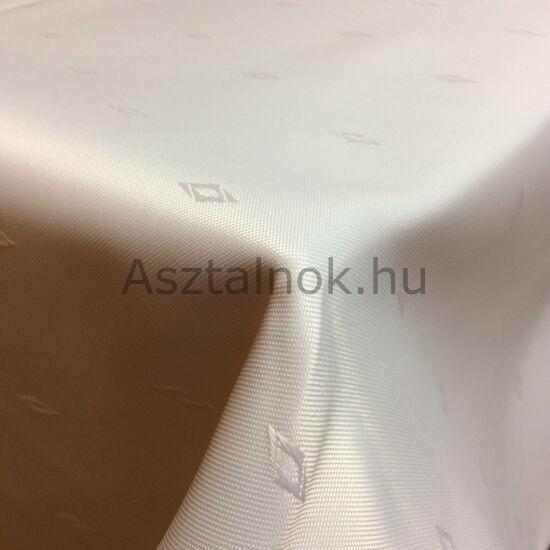 Rombusz fehér asztalterítő