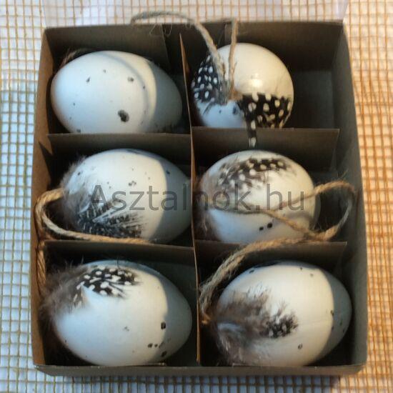 Tollas dekor tojás készlet