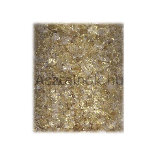 Arany dekorációs műhó