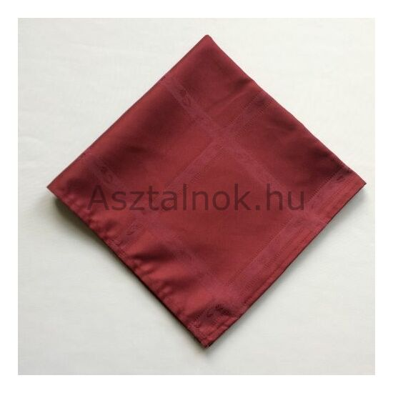 Begónia damaszt textil szalvéta