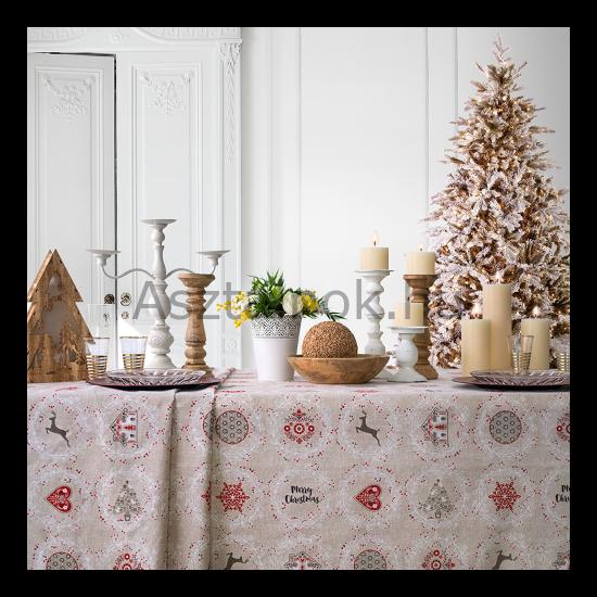 Mézeskalács karácsonyi asztalterítő