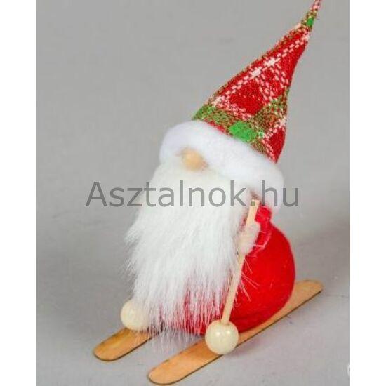 Karácsonyi manó figura sílécen