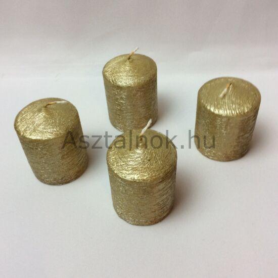 Arany gyertya 4 db-os készlet