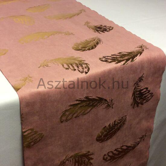 Arany tollpihe asztali futó púder