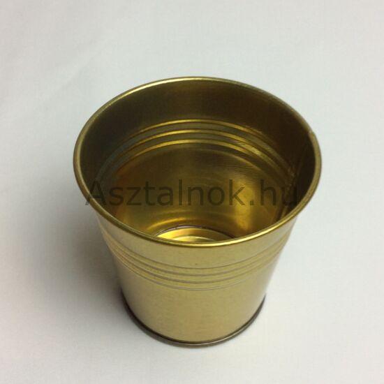 Arany mini dekor kaspó