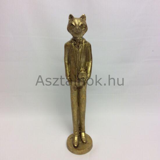 Arany róka figura