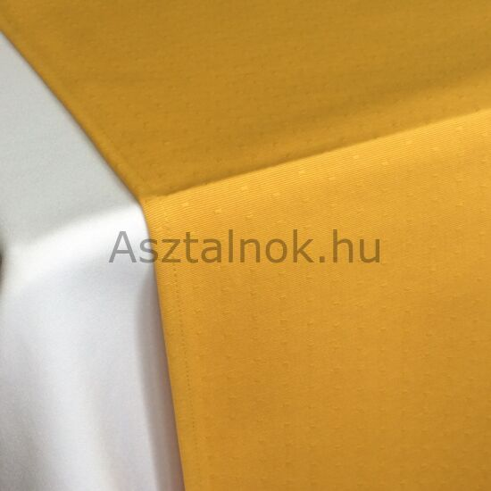 Aranyeső damaszt asztali futó