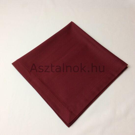 Begónia bordó textil szalvéta