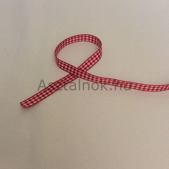 Piros fehér kockás szalag