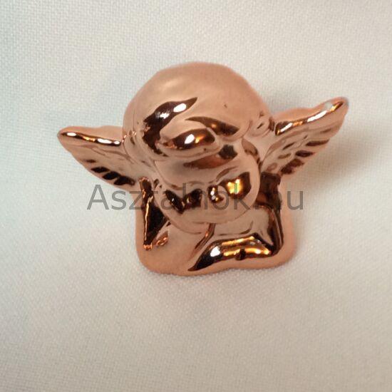 Rosegold angyal dekoráció