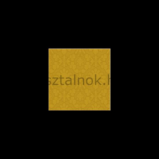 Arany színű ünnepi szalvéta