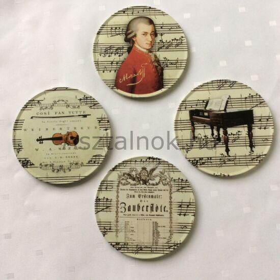 Mozart fém-parafa poháralátét