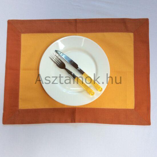 Alkony lenvászon tányéralátét