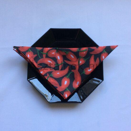 Chili textil szalvéta