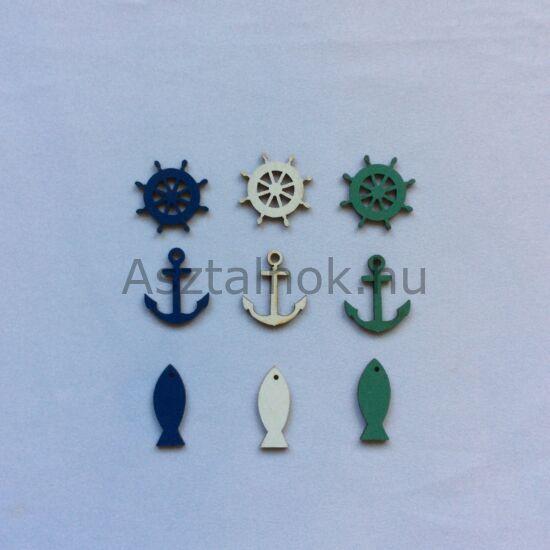 Hajós dekorációs csomag
