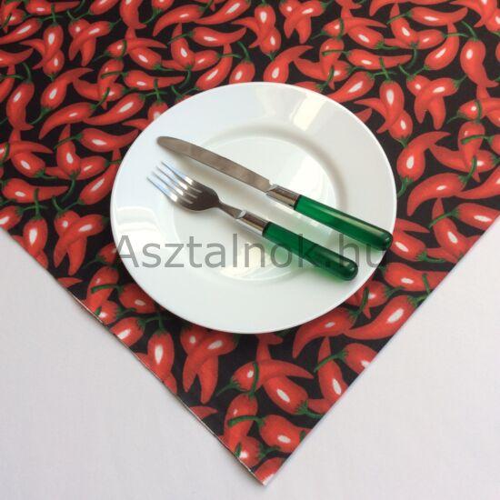 Chili asztalközép terítő