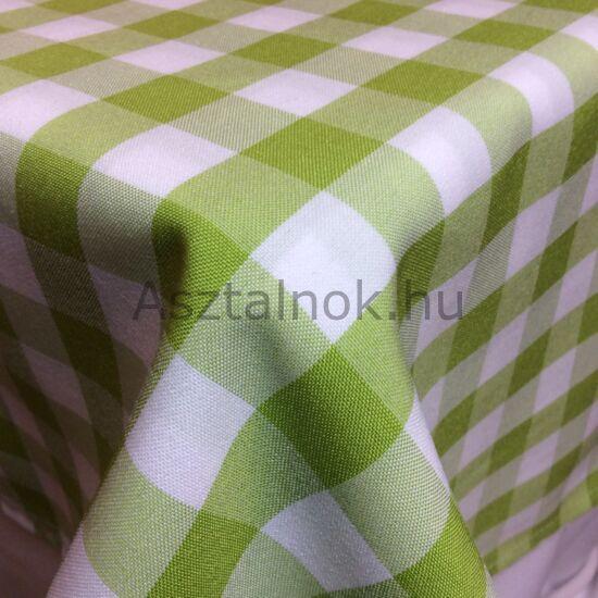 Kiwi fehér kockás asztalterítő