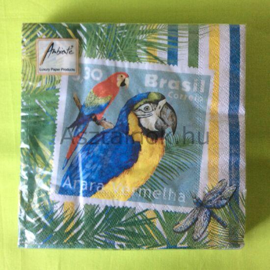 Papagáj papírszalvéta